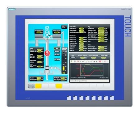 Hệ thống màn hình & phần mềm giao diện người máy SIMATIC HMI