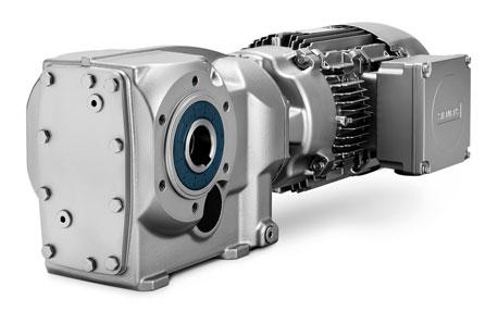 Động cơ bánh răng xiên xoắn ốc SIMOGEAR (SIMOGEAR Helical Bevel Geared Motors)