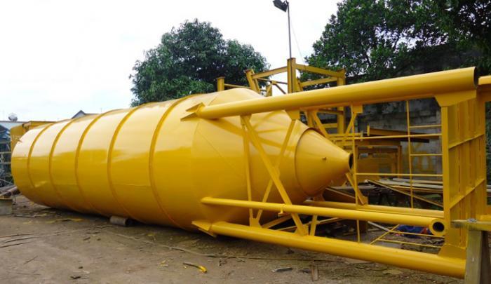 Ngành xi măng: Thiết bị đo mức silo làm nguội Clinker